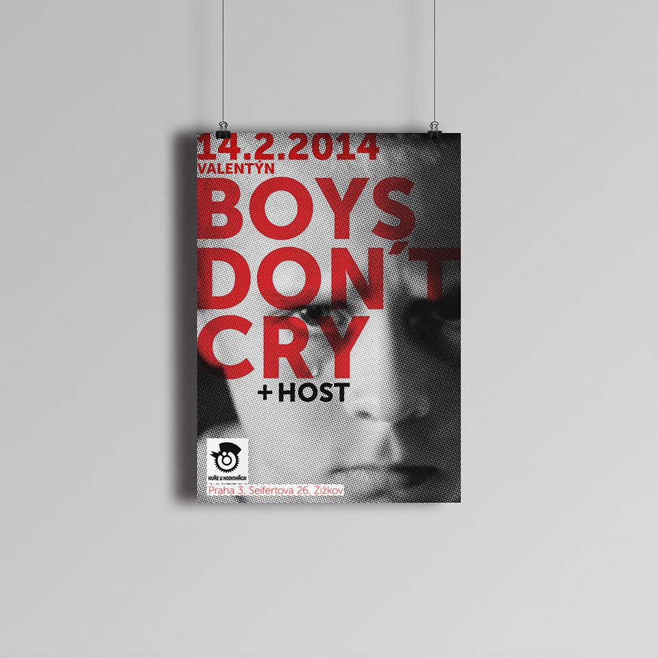 PLAKÁT BOYS DON´T CRY